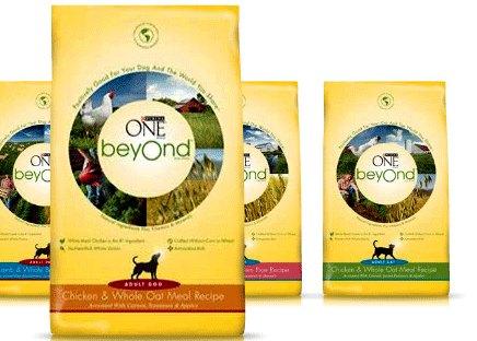 Purina-One-Beyond cat dog food coupons