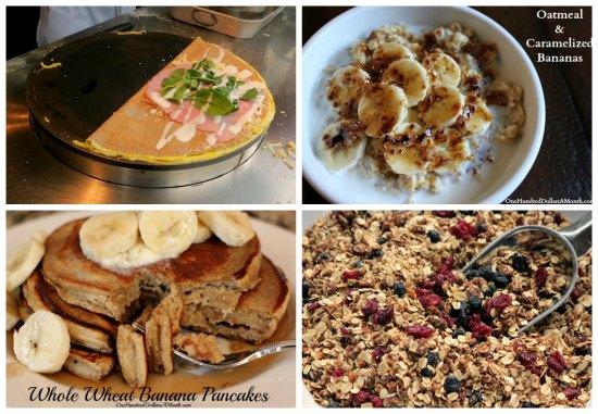 breakfast Menu Plan Ideas