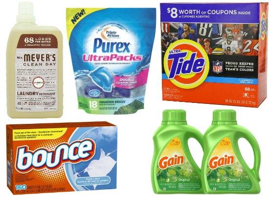 deals on laundry detergent
