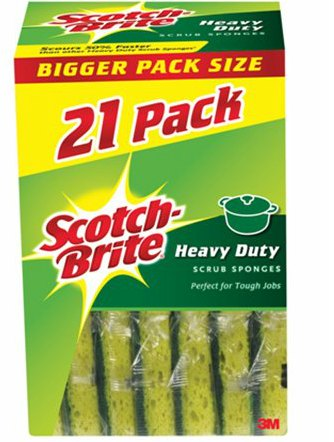 Scotch Brite Anti Bacterial Heavy Duty Sponge