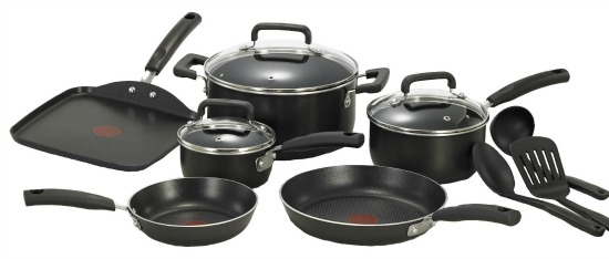 T-fal Signature Nonstick 12-Piece Cookware Set