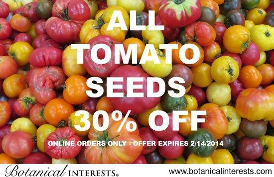 botanical interets tomato seeds
