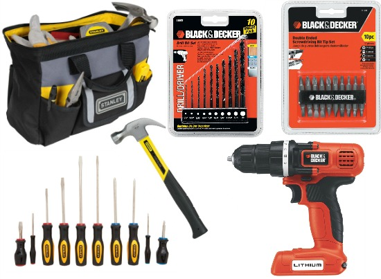 stanley black and decker tools