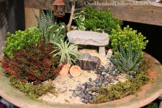 Miniature Gardens At The Northwest Flower And Garden Show