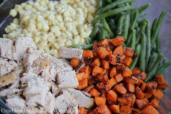 Turkey Casserole with Mashed Potato Topping
