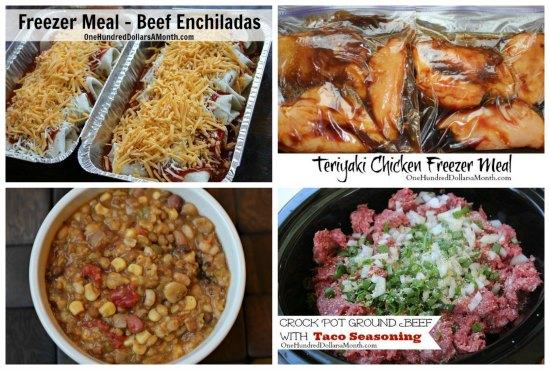 Weekly Meal Plan - Menu Plan Ideas Week