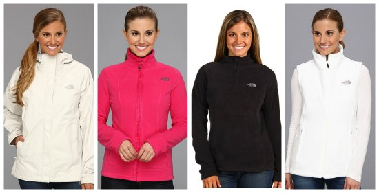 the north face jackets for women