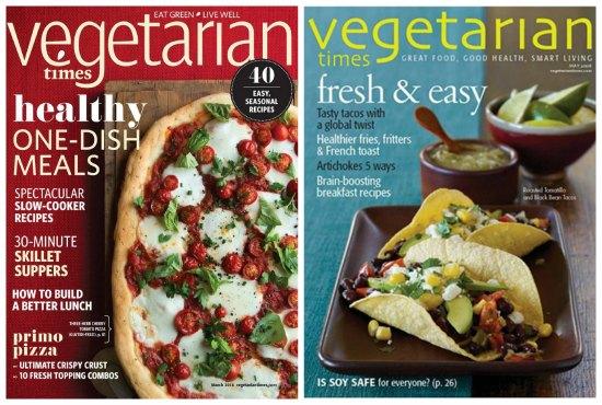 vegetarian times magazine
