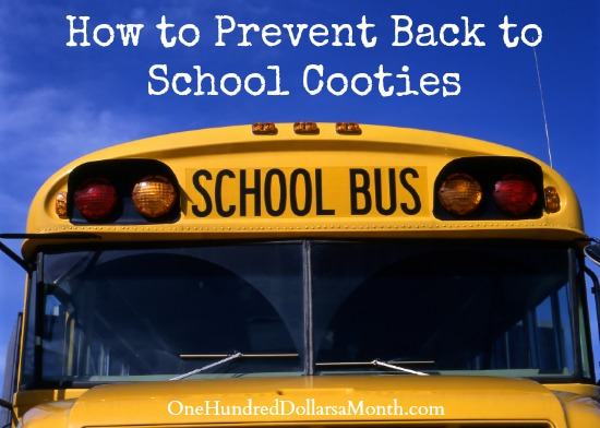 How to Prevent Back to School Cooties