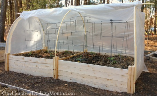 hoop house directions pictures