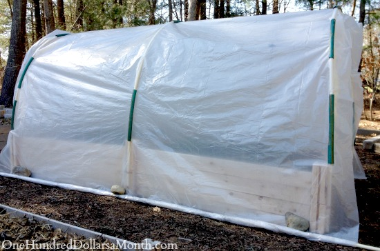 hoop house polytunnel directions