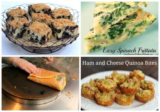 weekly menu plans breakfast ideas