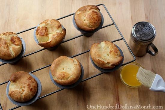 Sugar-Crusted Popovers recipe
