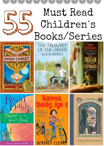 The Perfect for Summer Reading List 55 Must Read Children's BooksSeries