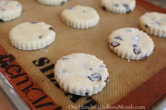 Traditional Raisin Scones recipe