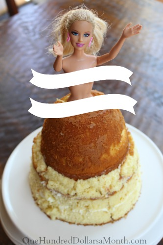 barbie cake directions