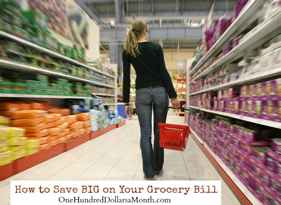 How to Save BIG on Your Grocery Bill