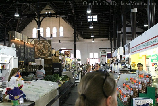 Lancaster Central Market produce stands