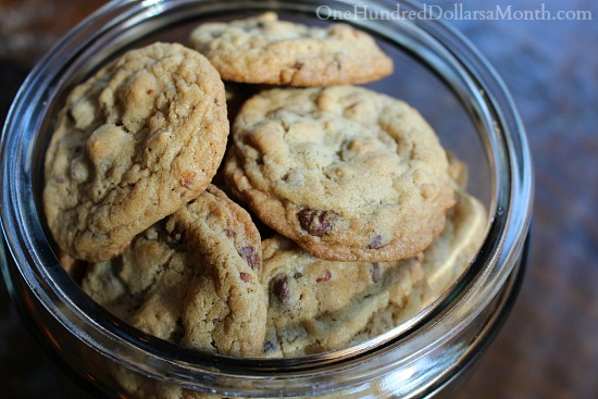 Pretzel Cookies with Chocolate  Peanut Butter Chips