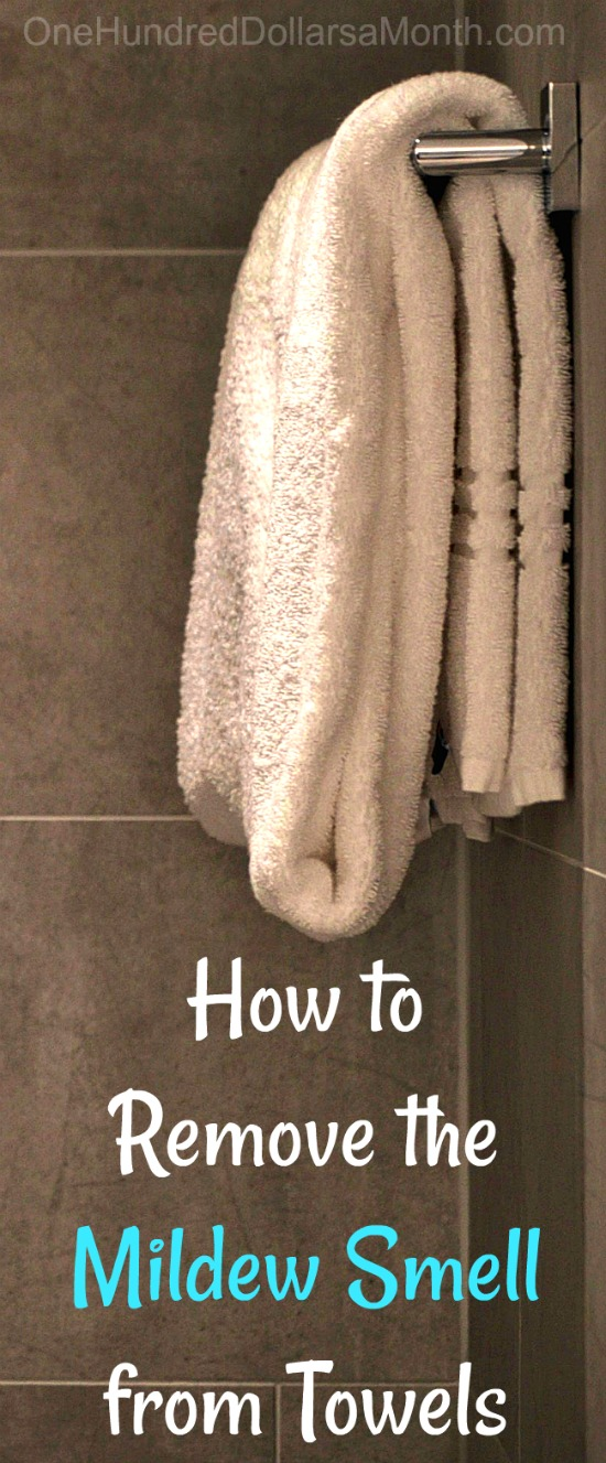 How To Remove Mildew Smell From Towels One Hundred Dollars A Month