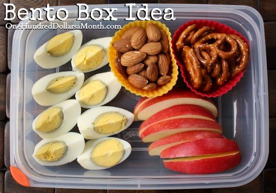 bento box ideas protein box