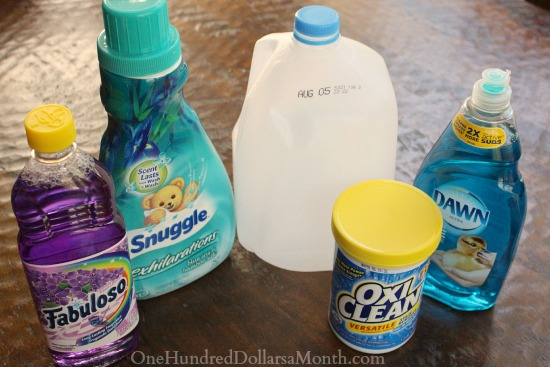 homemade carpet cleaner with oxiclean