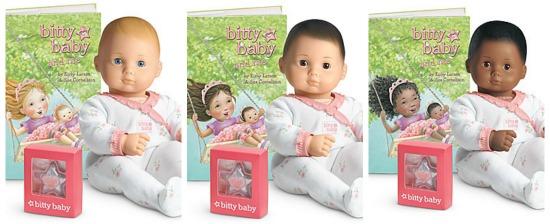 american girl bitty baby dolls