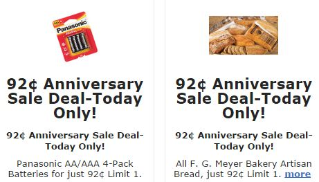 fred meyer anniversary sale deals