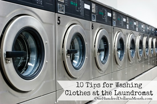 10 Tips for Washing Clothes at the Laundromat