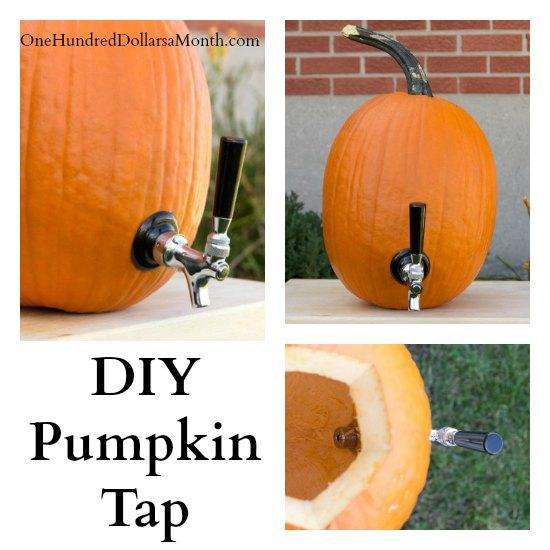 DIY-Pumpkin-Tap-Drink-Dispenser-