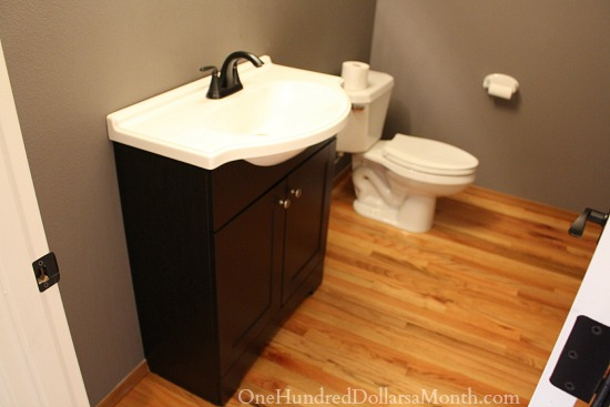 Powder Room Remodel Part One