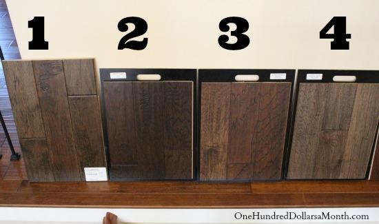 Dark Brown Hardwood Flooring One Hundred Dollars A Month