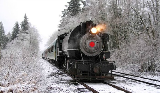 santa express train ride