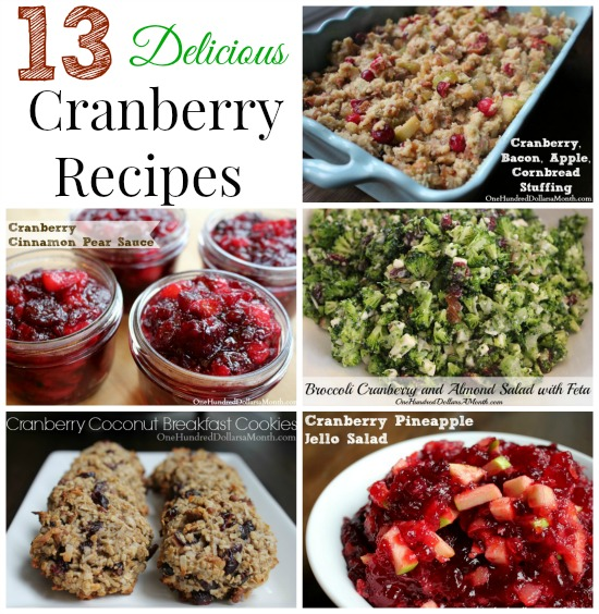 13 Must-Try Cranberry Recipes