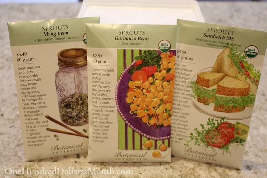 Indoor gardening seeds to sprouts in 5 days or less for Indoor gardening expo 2014