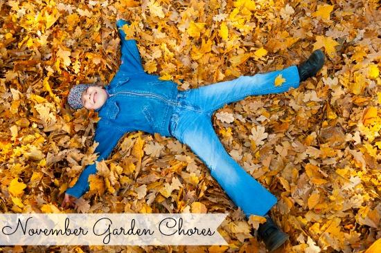 november garden chores