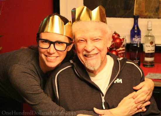 Gold Christmas Crowns