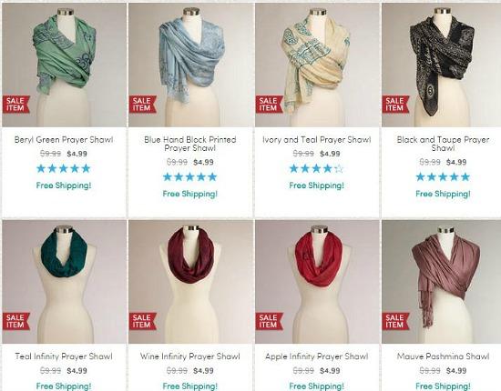 world market prayer shawls