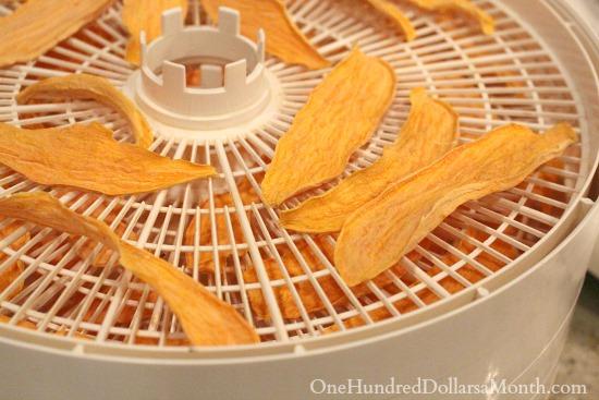Homemade Sweet Potato Dog Chews