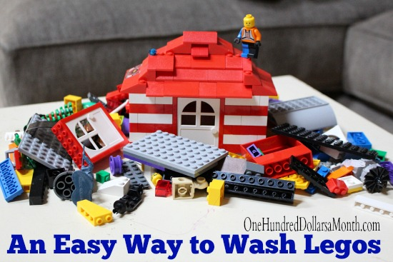 An Easy Way to Wash Legos