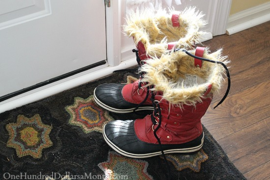 red sorel boots