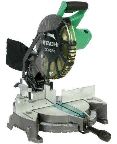 Hitachi C10FCE2 10-Inch Compound Miter Saw