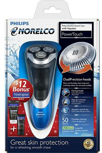 norelco power touch razor