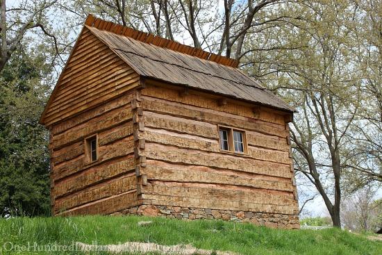 Monticello cabin