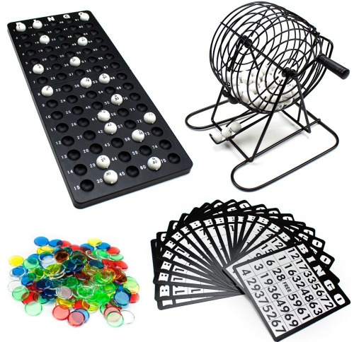 Brybelly Complete Bingo Game Set
