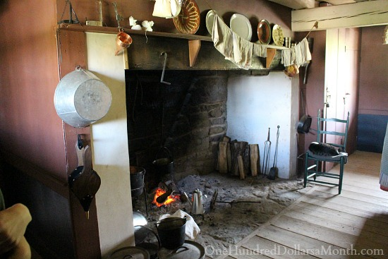 Frontier Culture Museum of Virginia in Staunton, Virginia