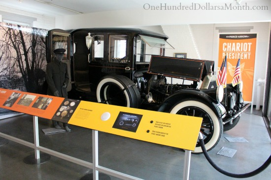 Woodrow Wilson Presidential Library limo