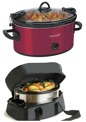 crock pot with snapping lid