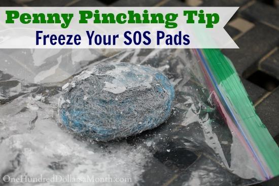 Penny Pinching Tip - Freeze SOS Pads