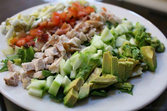 chop cobb salad